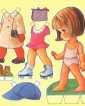 Плоскостная бумажная кукла